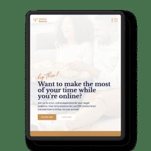The Online Retreat Website