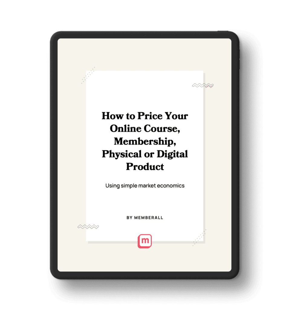 How to Price Your Online Course, Membership, Physical or Digital Product